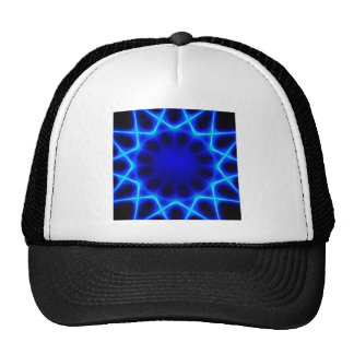 Blue laser #2 trucker hat