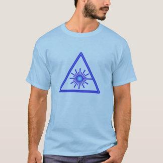 Blue Laser Symbol T-Shirt
