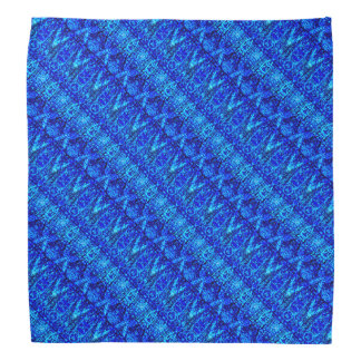 Blue Layered Pattern Do-rag