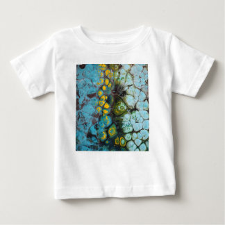 Blue Layered Rock Baby T-Shirt