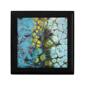 Blue Layered Rock Gift Box