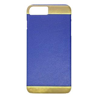 Blue Leather Design iPhone 7 Plus Case