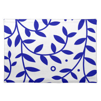Blue Leaves Placemat