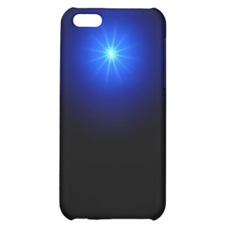 blue led cover for iPhone 5C