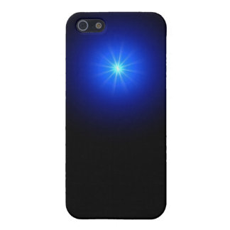 blue led cover for iPhone 5