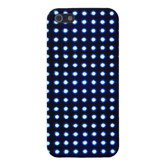 Blue Led light iPhone 5/5S Cases