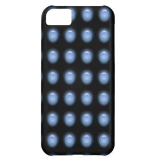 Blue Leds on Black iPhone 5 Cover