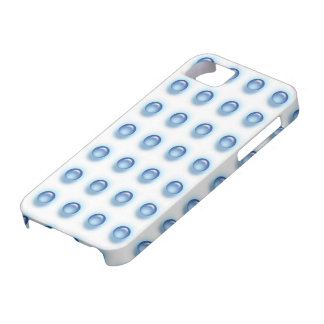 Blue Leds on White iPhone 5 Cover