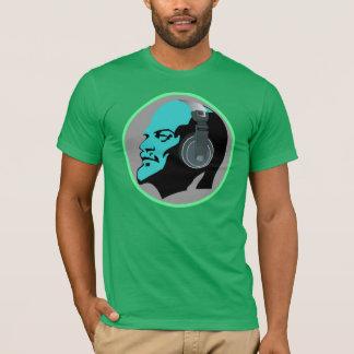 BLUE LENIN WITH HEADPHONES T-Shirt