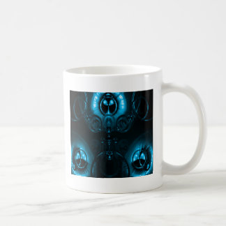 Blue Lens Flare Coffee Mug