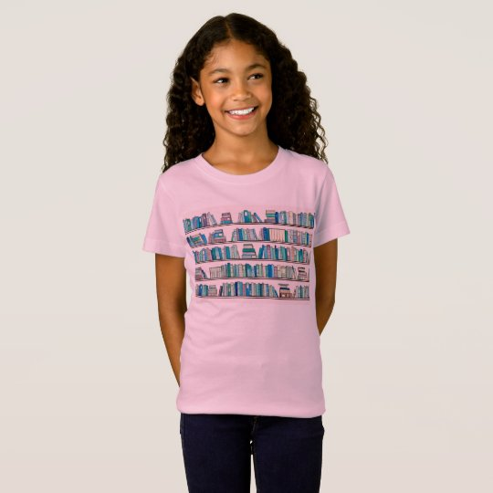 Blue Library Girls' Tee
