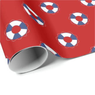 Blue Life Preservers over Any Colour Background
