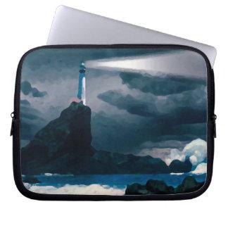 Blue Lighthouse funda_10 Laptop Sleeve