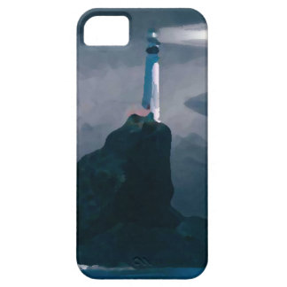 Blue Lighthouse iphone iPhone 5 Case
