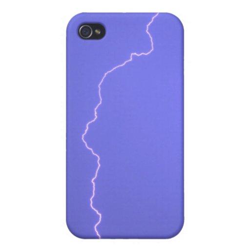 Blue Lightning 2 4/4s  iPhone 4 Case