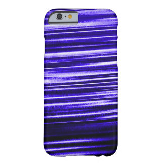 Blue Lightning Flash Fractal Barely There iPhone 6 Case