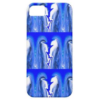 Blue lightning iPhone 5 case
