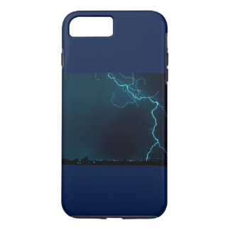 Blue Lightning Phone Case