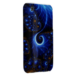 blue lightnings iPhone 3 cover