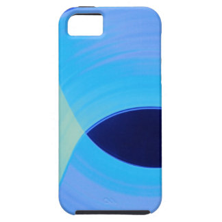 Blue Lights iPhone 5 Covers