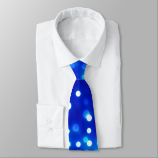 Blue Lights Tie