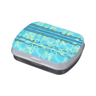 Blue Like Water Candy Tin