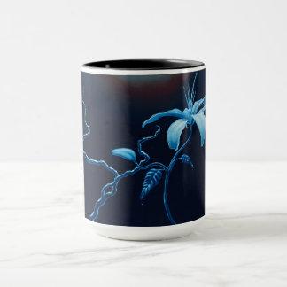Blue Lillie Mug