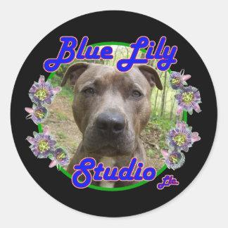 Blue Lily Studio sticker