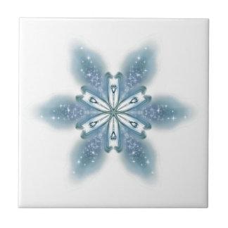 Blue Lily Tile