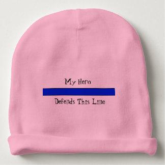 Blue Line Baby Cotton Beanie Baby Beanie
