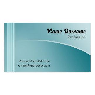 Blue Line Business Cards
