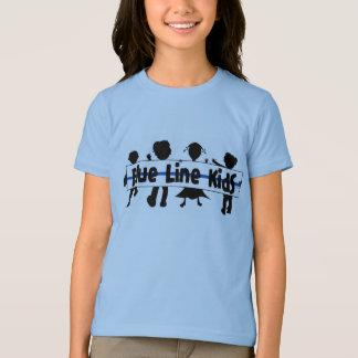 Blue Line Kids T-Shirt