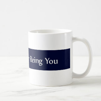 Blue Line Law Enforcement Loving You Coffee Mug
