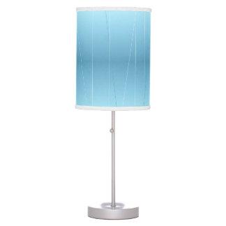 Blue Line Print Desk Lamps