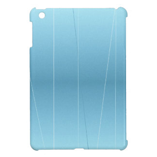 Blue Line Print iPad Mini Cover