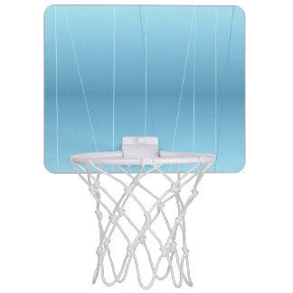 Blue Line Print Mini Basketball Hoop