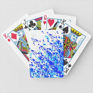 Blue Line Tussle Bicycle Playing Cards