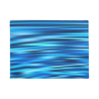 Blue Line Tussle Doormat