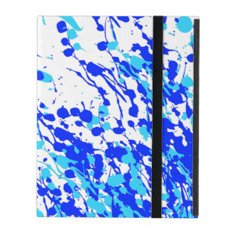 Blue Line Tussle iPad Cover
