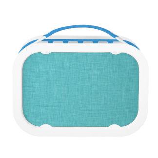 Blue Linen Lunchbox