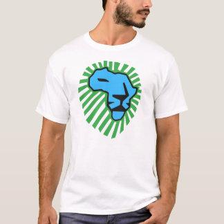 Blue Lion Green Mane Waka Waka Shirt
