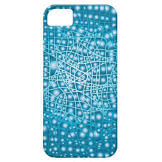 Blue Liquid Background Case For The iPhone 5