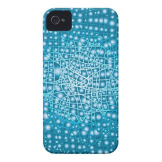 Blue Liquid Background iPhone 4 Case-Mate Cases