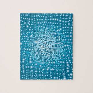 Blue Liquid Background Jigsaw Puzzle