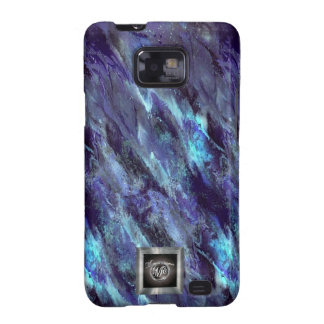 Blue Liquid camo Samsung Galaxy S2 case