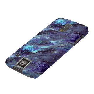Blue Liquid camo Samsung Galaxy S5 case