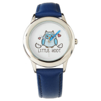 Blue Little Hoot Watch