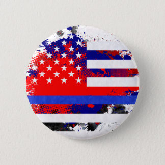 Blue Lives Matter 2 Inch Round Button
