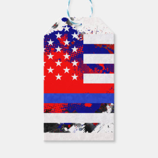 Blue Lives Matter Gift Tags