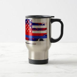 Blue Lives Matter Travel Mug